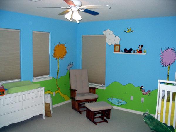 Child's Bedroom Mural